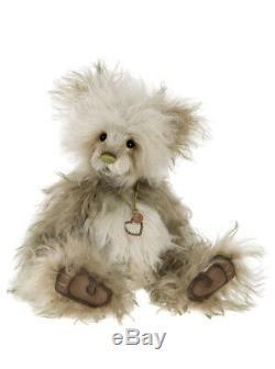 Forbes Mohair Teddy Bear-045 by Charlie Bears 16.5 SJ5572