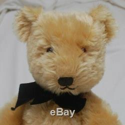 Gorgeous 22 1950's Golden Mohair Chiltern Hugmee Teddy Good Condition Few Flaws