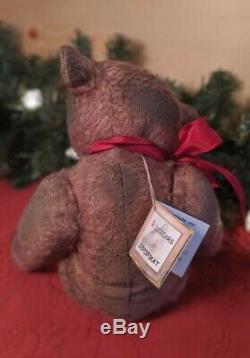 Gusto 13 Mohair Artist Teddy Bear by Rita Diesing of Ridibears OOAK