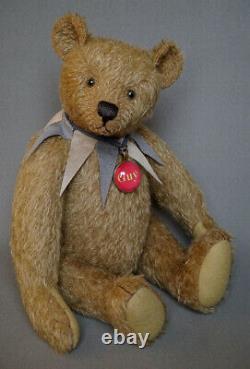 Guy by Frank Webster artist teddy bear handmade in England OOAK