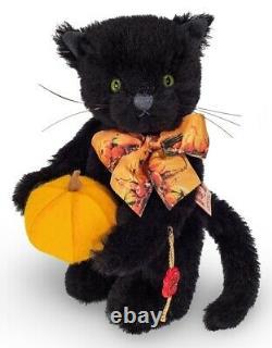 Halloween Cat by Teddy Hermann limited edition mohair collectable bear 11752
