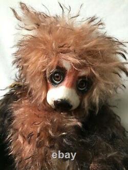 Handmade Artist Teddy Bear By Jo Nevill for Jo Bears 12/ Porcelain Faced