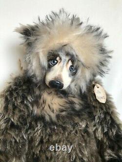 Handmade Artist Teddy Bear By Jo Nevill for Jo Bears 19/ Porcelain Face