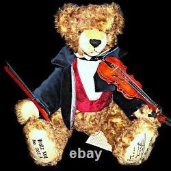 Hermann The Waltz King Johann Strauss Ltd Edition Mohair Musical Teddy Bear 60