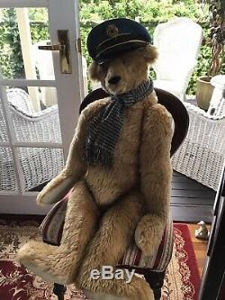 Huge yesterbears Cindy Martin OOAK Teddy Bear Largest Vintage Bear 98 Cm 39