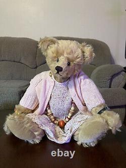 Knickerbocker Mohair Teddy Bear, Oldie Goldie, 20, Limited edition 1993