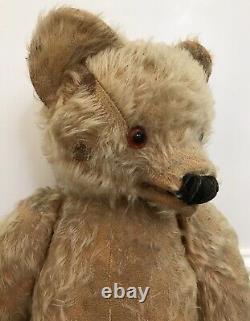 Large Antique Tara Toys Mohair Jointed Talking Teddy Bear Ireland 21
