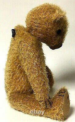 Lori Ann Baker 13 Brown Mohair Teddy Bear Roosevelt Pin With Box
