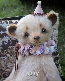 Marta. ArtsToy OOAK handmade artist teddy bear Justin