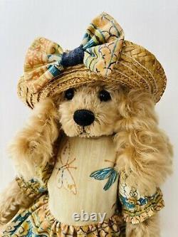 Mary Holstad Cocky artist teddy bear cocker spaniel 13 mohair RARE