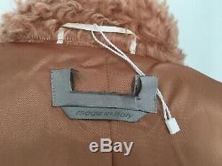 Max mara new coat/teddy bear in camel /beige colored USA 8/GB 10/ D 38/I 42