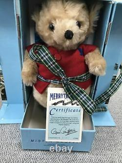 Merrythought Mohair Mr Whoppit World Speed Record Breaking Teddy Bear Boxed