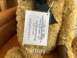 Mohair Artist Teddy Bear 20-inch Louis by Karen Meer Mad Hatted Bears, OOAK