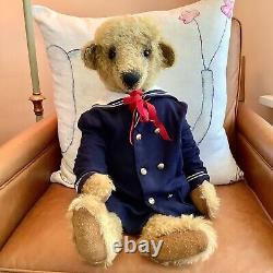 Mohair Artist Teddy Bear 25-inch Carter Donna Hinkelman Bainbridge Bears, OOAK