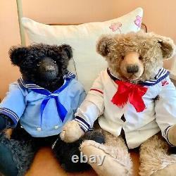 Mohair Artist Teddy Bear, 28-inch Lynn & Phil Gatto, Limerick Bears OOAK Sailor