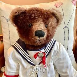 Mohair Artist Teddy Bear Henry 25-inch Donna Hinkelman, Bainbridge Bears OOAK