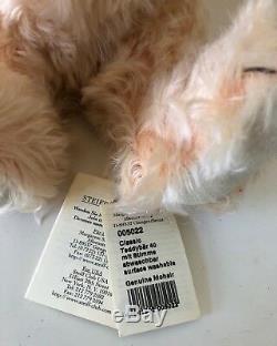 Nwt Steiff Classic Teddy Bear Apricot Mohair With Growler Ean 005022