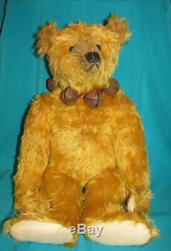 OOAK 18 inch Terry John Woods Golden Mohair Teddy Bear