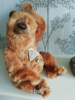 OOAK Artist Teddy Bear Folkor (Silk) by Natalia Muraveva