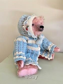 OOAK Mohair Teddy Bear by Artist Pat Murphy
