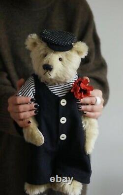 Ooak Handmade Moahir Teddybear