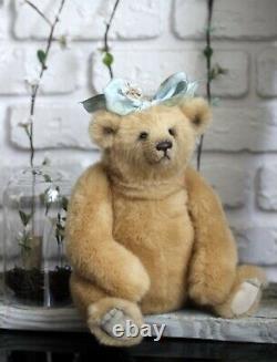 Ooak mohair one of a kind artist teddy bears Alla Zubkova