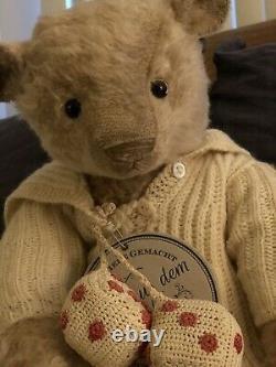 Ooak mohair one of a kind artist teddy bears Susanne Tauber