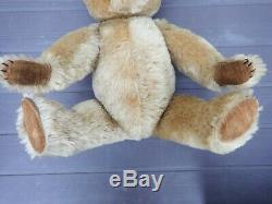 Original Chiltern vintage toy collectable teddy bear antique mohair glass eyes