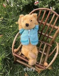Phoebe 1920's Chiltern Bear 12 Old Antique English Mohair Teddy Bear