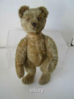 RARE! Antique 1907 AETNA Early American Mohair Fully Jointed Teddy BEAR 14 tall