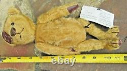 RARE Marsha DeHaven artist Teddy Bear pair PATCH & CORNELIUS Ltd Ed Witney tag