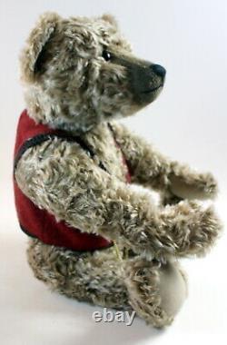 RARE Steiff Teddy Bear Grandpapa Limited Edition Growler/Steiff Pocket Watch 25