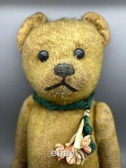 Rare Antique German Jointed Mohair Teddy Bear 11