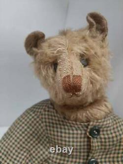 Rare Artist made 12 OOAK Mohair Teddy Bear by Artist Terry John Woods 1990's
