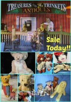 Rare German Toy 12 Beate Bera Jimbo Monkey Mohair Chimp Vintage Teddy Bear Doll