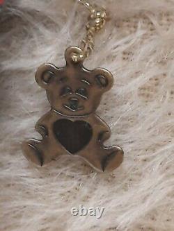 Rare Vintage 8 OOAK Mohair Teddy Bear by Artist Sharon Barron