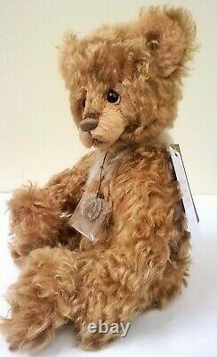 SJ5814 Goosebumps Mohair Teddy Bear Charlie Bears
