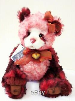 SJ5921B Flamenco Mohair Teddy Bear 46cm Limited Edition by Charlie Bears
