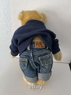 STEIFF 14 Teddy Bear UFDC 50th Anniv 1949-1999 Ralph Lauren Polo USA Limited Ed