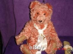 STEIFF-COMPASS ROSE TEDDY BEAR 44cm-1995 USA exclus