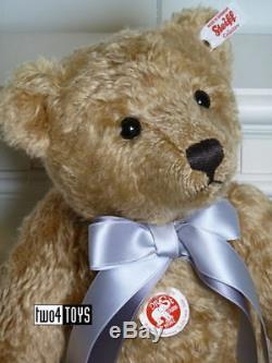 STEIFF Ltd BRITISH COLLECTORS TEDDY BEAR 2018 37 cm / 14.8in. EAN 690402