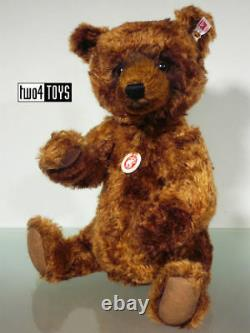 STEIFF Ltd GRIZZLE GRIZZLY TEDDY BEAR 13.4in. /34cm EAN 664915 BOXED RETIRED