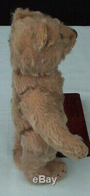 STEIFF Original Teddy Bear c1950's Mohair Toy Germany