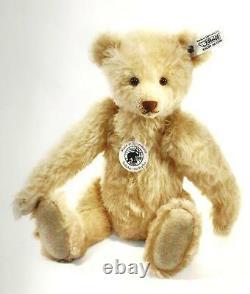 STEIFF TEDDY BEAR 1934 REPLICA EAN 402999 BLOND MOHAIR 30cm-GLASS EYES-2012