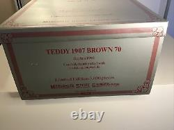 STEIFF Teddy Bear 1907 Replica 70cm Brown 5000 Limited Edition New Original 1993