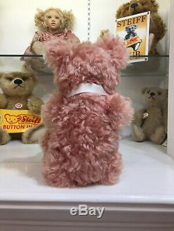 STEIFF Teddy Bear COMPASS ROSE 17 inches Mohair 5-way jointed NRFB STORE NEW