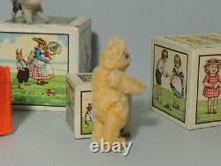 Seltener STEIFF Teddy aus Wollmohair Smallest size wool mohair bear Rare