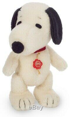 Snoopy limited edition mohair collectable dog by Teddy Hermann 23cm