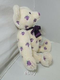 Steiff 2013 IRIS TEDDY 13.5 LtdEd 1500 Mohair Bear 682384 MINT