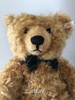 Steiff 21 Mohair Henderson Bear Blond 55 Exclusively For Teddy Bears Of Whitney